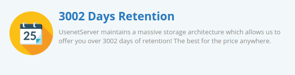 Usenet Server Retention